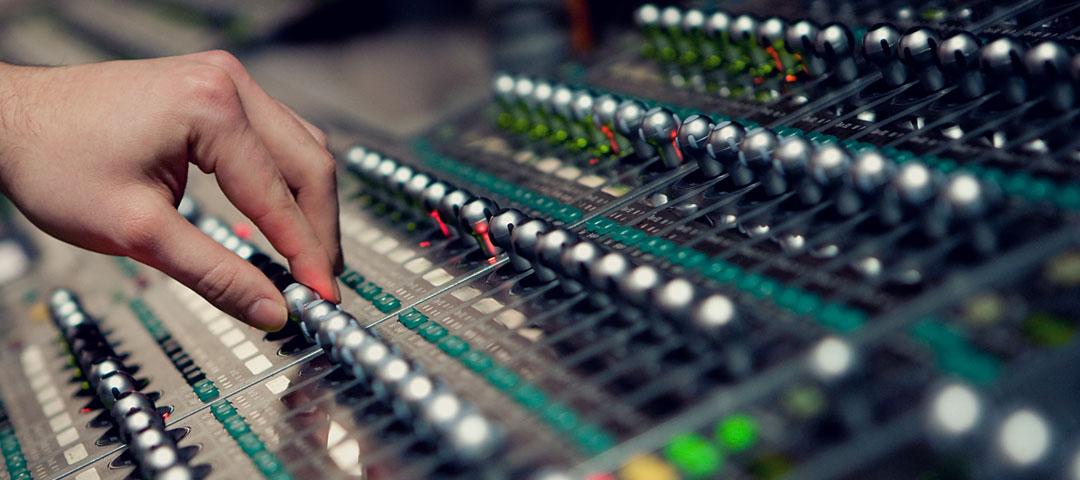 Аренда звука - пульт звуковой